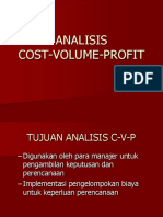 Analisis Cost Volume Profit 031018