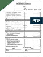 Checklist Oxicorte