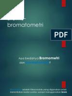Bromo Bromatometri
