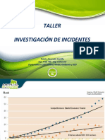 Taller Investigación de Accidentes v-3