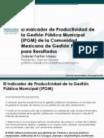 Presentacion Indicador Productividad IPGM
