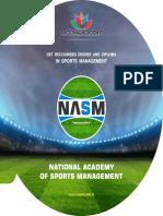 NASM Best Sports Management Institute