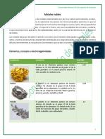 TAREA 01. Metales Nobles y Activos