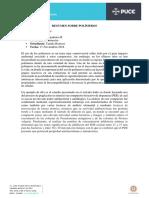 Resumen Polímeros-Camila Reinoso