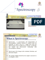 UV Spectroscopy Basics