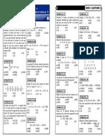 Razonamiento Matematico 05 Series y Sumatorias