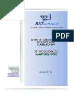 Resumen de Estudio KDV 500 Chiclayo 2018