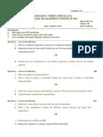 Dbms 2013 Uviversity exam