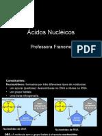 Biologia PPT - Ácidos Nucléicos