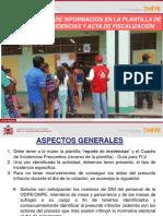 12 - FLV_ERM2018_Registro de Informacion en Reporte Incidencia y Acta
