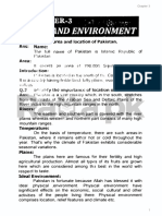 Important Notes of 9th Class Pak Study Chapter 3 English Medium