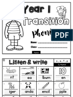 Phonic Worksheet