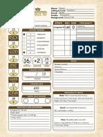 Pugmire Interactive Character Sheet (Revised)
