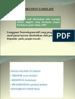 3.Penyakit Parkinson