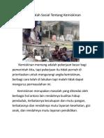 Artikel Masalah Kemiskinan .doc