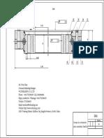 Dibujo de Coronas de Orientación Para Zoomlion Excavadora ZE80A