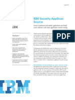 Ibm Appscan Source Datasheet