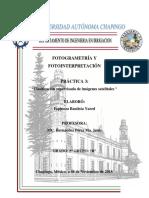 clasificación supervisada de imagenes sateltales idrisi