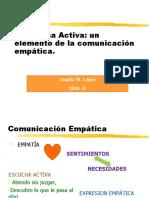 La Escucha Activa y Bloqueadors de La Comunicacion