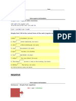 Inglês SIMPLE PAST -Exercises (2)