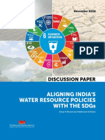 Aligning India's water resource policies with the SDGs