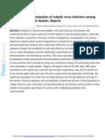 Epidemiological Evaluation of