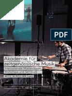 Flyer Akademie 2019