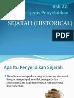 Penyelidikan Sejarah 1