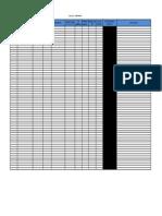 Calibration Log