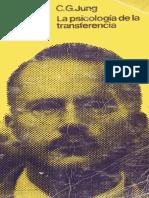Libro Cg Jung Psicología de La Transferencia