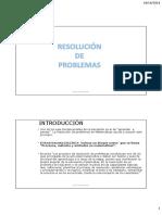 Resolución de Problemas (1)
