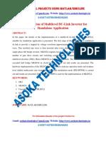 Implementation of Multilevel DC-Link Inverter for Standalone Application