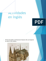 Actividades en Inglés