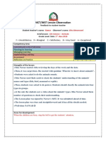 observation feedback - nawar- 2nd observation-1st-11-2018