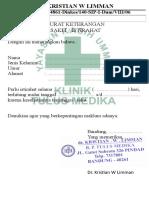 Surat Dokterxlsx