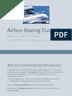 Airbus Boeing Presentation