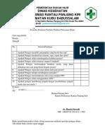 9.1.2 bukti Formulir Penilaian Perilaku Pemberi Pelayanan Klinis.docx