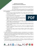 Corrupção - Manisfesto Das Igreejas Evangélicas Históricas