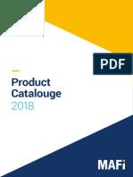 MAFI Catalog 2018