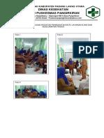 6.1.1.5. Rekam Kegiatan Pelaksanaan Sosialisasi Kebijakan Mutu Puskesmas Dan Keselamatan Pasien Dan Tata Nilai