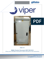 Alifabs Viper Cabinet