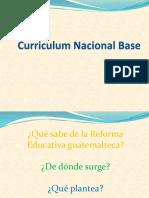 Curriculum Nacional Base/Descripción