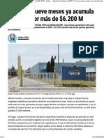 Acindar Despidió a Todos Los Trabajadores de La Planta Rosarina de Navarro