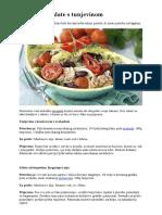 Recepti Za Salate s Tunjevinom