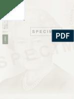 Specimen Issue 1