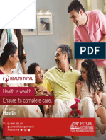 Mediclaim Policy for Family With Health Total From Future Generali