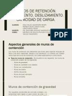MUROS DE RETENCIÓN