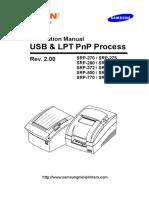 BIXOLON SRP 275 Installation Manual