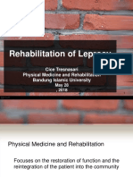 Rehabilitation of Leprosy (Lecture 28 Mei 2018).ppt