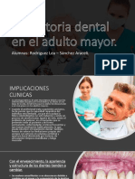 Geriatria- Operatoria Dental